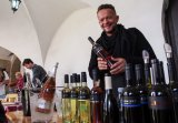 Every September it is possible to taste wines from around the world at the Seeberg Castle (Photo by Václava Simeonová)